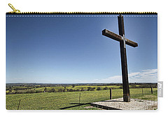 Cross On The Hill V3 Carry-all Pouch by Douglas Barnard