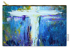 Cross - Painting #4 Carry-all Pouch by Kume Bryant