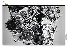 Cross Section Of Buick Lacrosse 3.6l V6 Vvt Car Engine Carry-all Pouch
