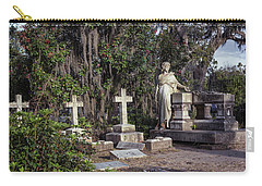 Carry-all Pouch featuring the photograph Crosses Three by Kim Hojnacki
