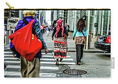Carry-all Pouch featuring the photograph Crossing by Karol Livote