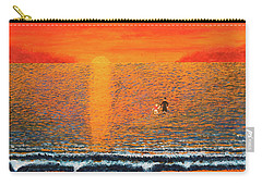 Carry-all Pouch featuring the painting Crossing Over by Thomas Blood