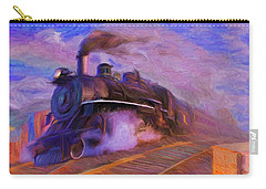 Crossing Rails Carry-all Pouch