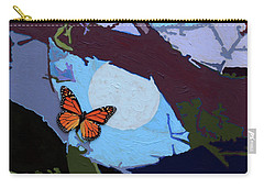 Crossing The Border Carry-all Pouch by John Lautermilch