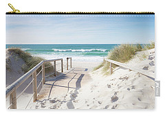 Crossing The Dune Carry-all Pouch by Edgar Laureano