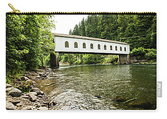 Crossing The Mckenzie River Carry-all Pouch