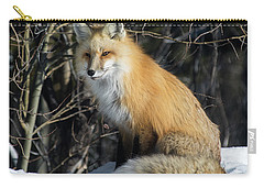 Crossroads With A Red Fox Carry-all Pouch