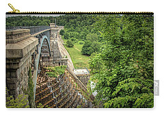 Carry-all Pouch featuring the photograph Croton Dam New York by Kristia Adams