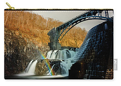 Croton Dam Rainbow Spray Carry-all Pouch