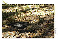 Crow Carry-all Pouch by Chris Mercer
