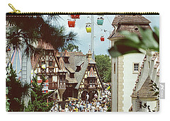 Carry-all Pouch featuring the photograph Crowded by John Schneider