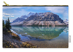 Carry-all Pouch featuring the photograph Crowfoot Reflection by Chad Dutson