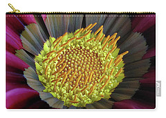 Carry-all Pouch featuring the photograph Crown Of Pollen by David and Carol Kelly