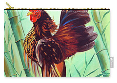 Crown Of The Serama Chicken Carry-all Pouch