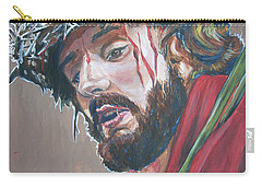 Carry-all Pouch featuring the painting Crown Of Thorns by Bryan Bustard