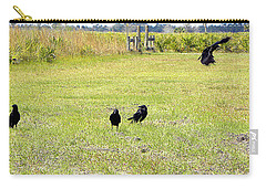 Crows Carry-all Pouch by Chris Mercer
