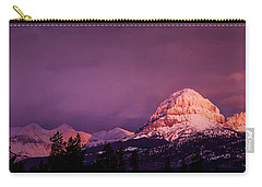 Crowsnest Sunrise Carry-all Pouch