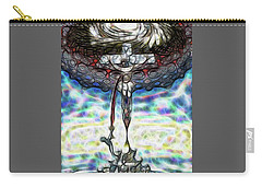 Carry-all Pouch featuring the painting Crucifixion Scene by Dave Luebbert