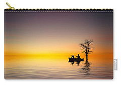 Carry-all Pouch featuring the pyrography Cruise by Bess Hamiti