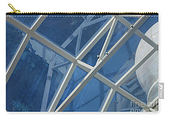 Cruise Ship Abstract Girders And Dome 2 Carry-all Pouch
