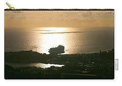 Cruise Ship At Sunset Carry-all Pouch