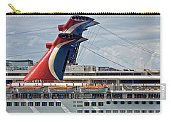 Cruise Ships In Cozumel, Mexico Carry-all Pouch