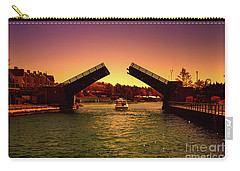 Cruisin In Color Carry-all Pouch by Rachel Cohen