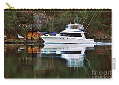 Cruising The River By Kaye Menner Carry-all Pouch