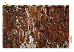 Carry-all Pouch featuring the photograph Crumbling Interior by Nareeta Martin