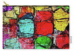 Crumbling Stone Wall Carry-all Pouch by Don Gradner