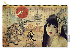 Cry Of The Tiger Carry-all Pouch