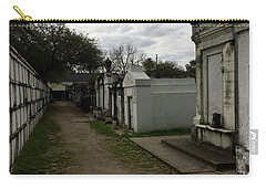 Carry-all Pouch featuring the photograph Crypts by Kim Nelson