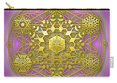 Crystal 1 Carry-all Pouch by Robert Thalmeier