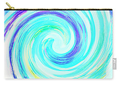 Crystal Blue Persuasion  Carry-all Pouch by Marianne Campolongo