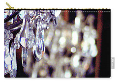 Crystal Chandelier Close Up Carry-all Pouch by D Renee Wilson