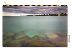 Carry-all Pouch featuring the photograph Crystal Clear Lake Michigan Waters by Adam Romanowicz