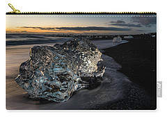 Crystal Ice At Sunrise Carry-all Pouch