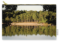 Carry-all Pouch featuring the photograph Crystal Lake In Whitehall Mi by Ferrel Cordle