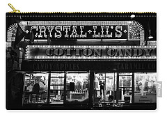 Crystal Lils And Cotton Candy Bw Carry-all Pouch
