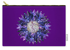 Crystal Magic Mandala Carry-all Pouch by Leanne Seymour