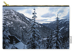 Crystal Mountain Dawn Carry-all Pouch