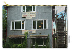 Carry-all Pouch featuring the photograph Crystal River Grist Mill by Trey Foerster