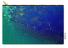 Carry-all Pouch featuring the photograph Crystal Sea by Danielle R T Haney