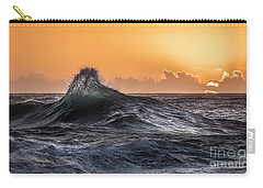 Crystal Wave Sunset Napali Coast Kauai Hawaii Carry-all Pouch