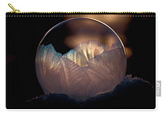 Crystallizing Bubble Carry-all Pouch by Loni Collins
