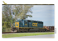 Csx Sd40-3 Carry-all Pouch by John Black