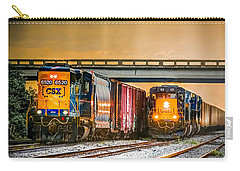 Csx Two For One Carry-all Pouch by Marvin Spates