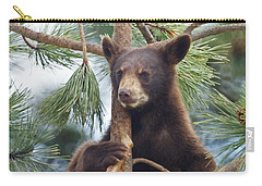 Cub In Tree Dry Brushed Carry-all Pouch