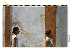 Cuba Calle In Havana Cuba Carry-all Pouch