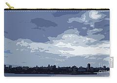 Cuba City And Skyline Art Ed4 Carry-all Pouch